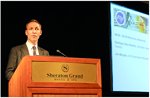 Secretary of State for Scotland, Jim Murphy opens the 2009 conference