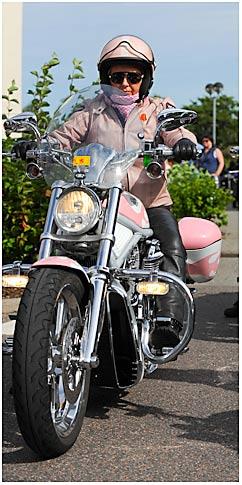 Ladies ride too!