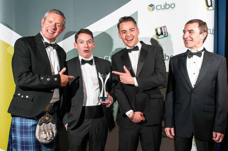 CUBO Awards 2012 Playfair Library Edinburgh