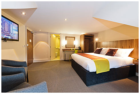 Guest room at The Place Edinburgh