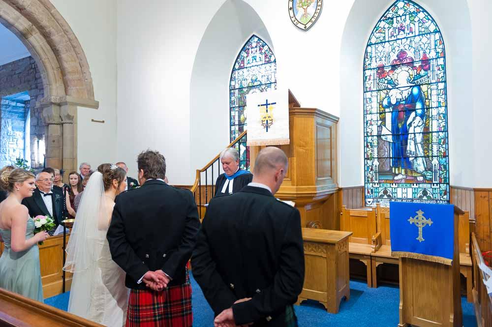 wedding photography duddingston kirk
