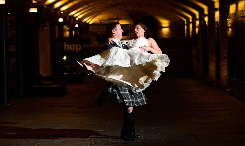 Wedding Photography National Museum of Scotland – Katy & Paul