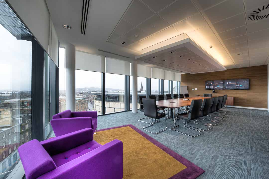 Corporate office interior photography