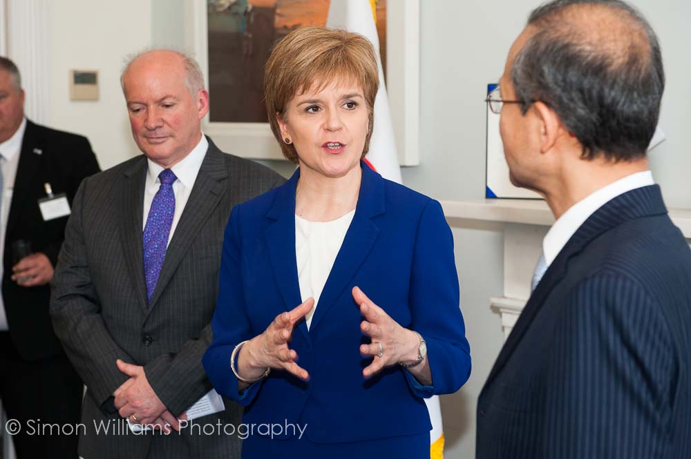 First Minister Nicola Sturgeon attends opening of Korean Consulate Edinburgh