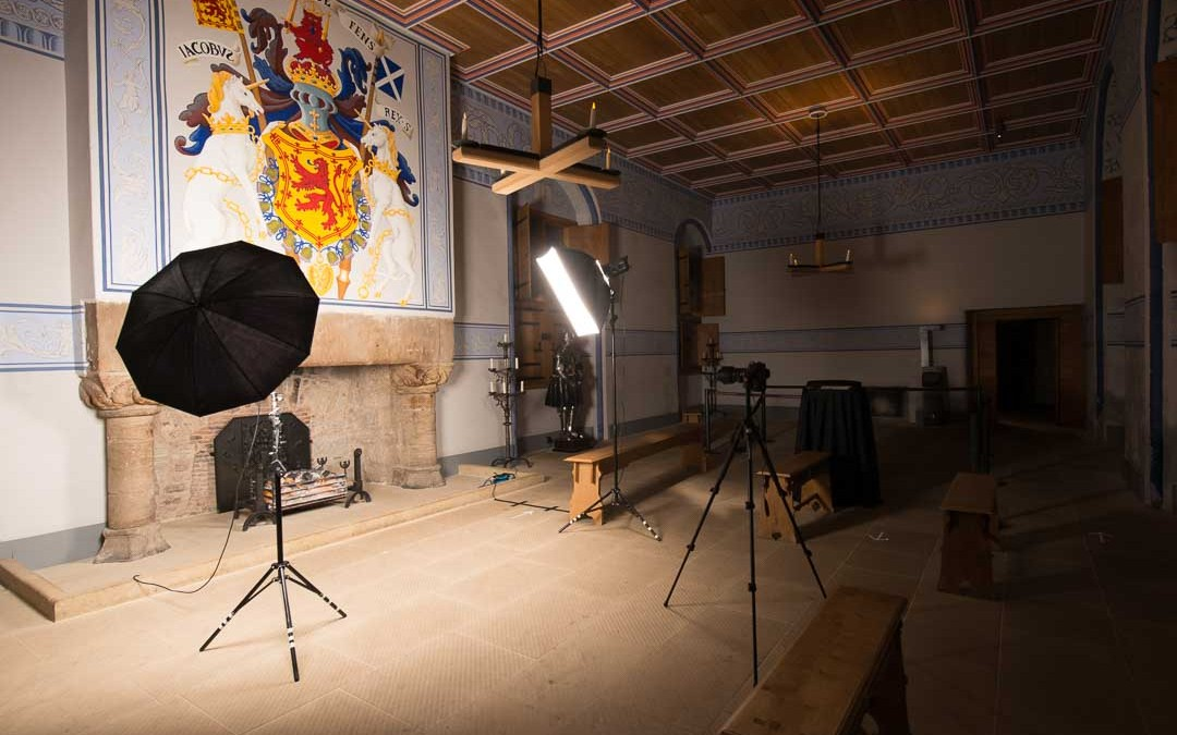 Portrait shoot Stirling Castle