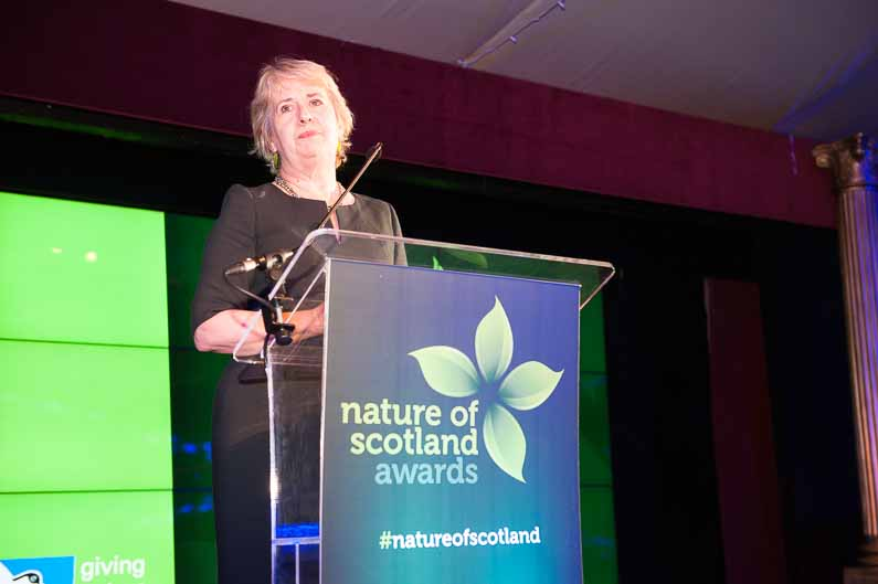 Nature of Scotland Awards 2016 Edinburgh – RSPB