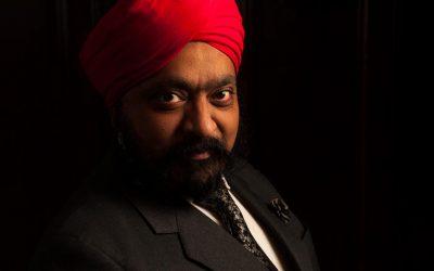 Portrait of Tony Singh MBE